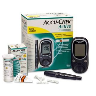 [TRỌN BỘ] Máy đo đường huyết ACCU CHEK ACTIVE, Bao gồm kim và bút chích máu, TẶNG 10 que thử, Bảo hành TRỌN ĐỜI 1 ĐỔI 1 thumbnail