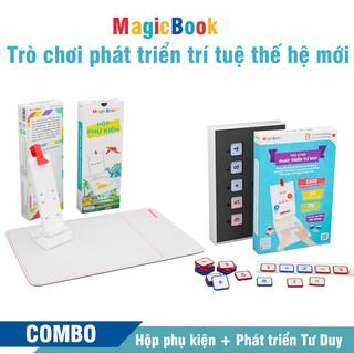 Trọn phát triển tư duy – Trò chơi phát triển trí tuệ trẻ em – Magicbook – Size S Box