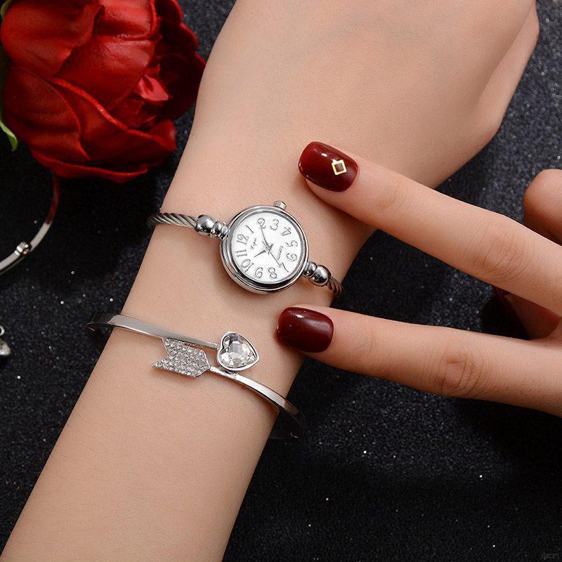 Đồng hồ quartz mặt nhỏ thời trang