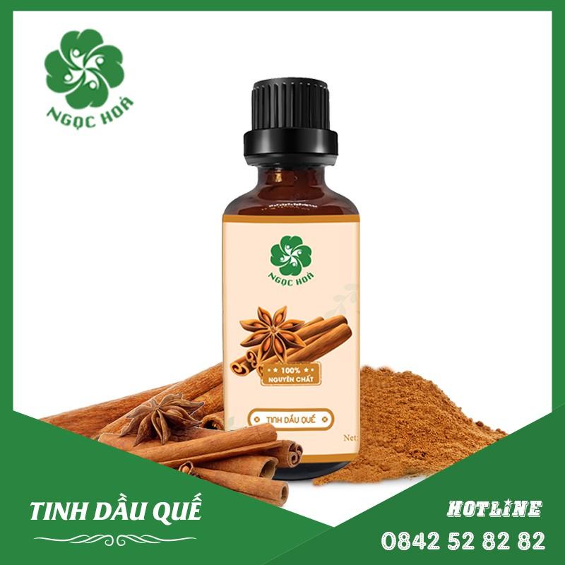 Tinh Dầu Quế Ngọc Hóa - Cinnamon Essential oil - Chữa cảm cúm, cảm lạnh, Điều trị đau nhức xương khớp -