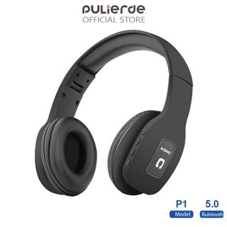 Tai Nghe Không Dây Pulierde T11 Bluetooth 5.0 Phong Cách Thể Thao Với Cáp Aux HD Micro Âm Thanh Nổi