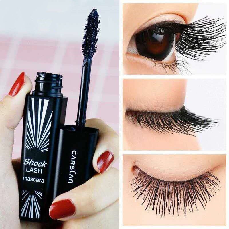 ☁Authenticity card appearance blue mascara weidiao large double-head big eyes not knot waterproof