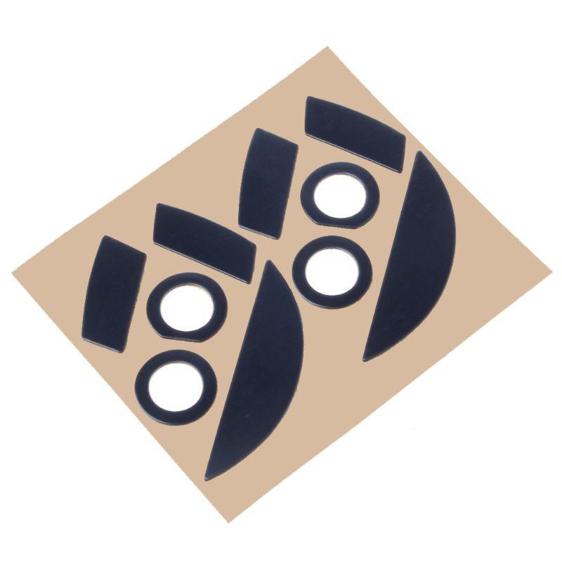 Gói 2 set đệm trượt di động trò chơi cho Razer Mamba 5G / Mamba 2015 Chroma 5G / Mamba Tournament phiên bản dày 0.6mm