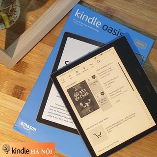 """Máy đọc sách Kindle Oasis 3 (10th) màn hình 7"""" 300PPI, màn hình vàng Warmlight, Chíp Dual 1Mhz, RAM 512, chống nước"""