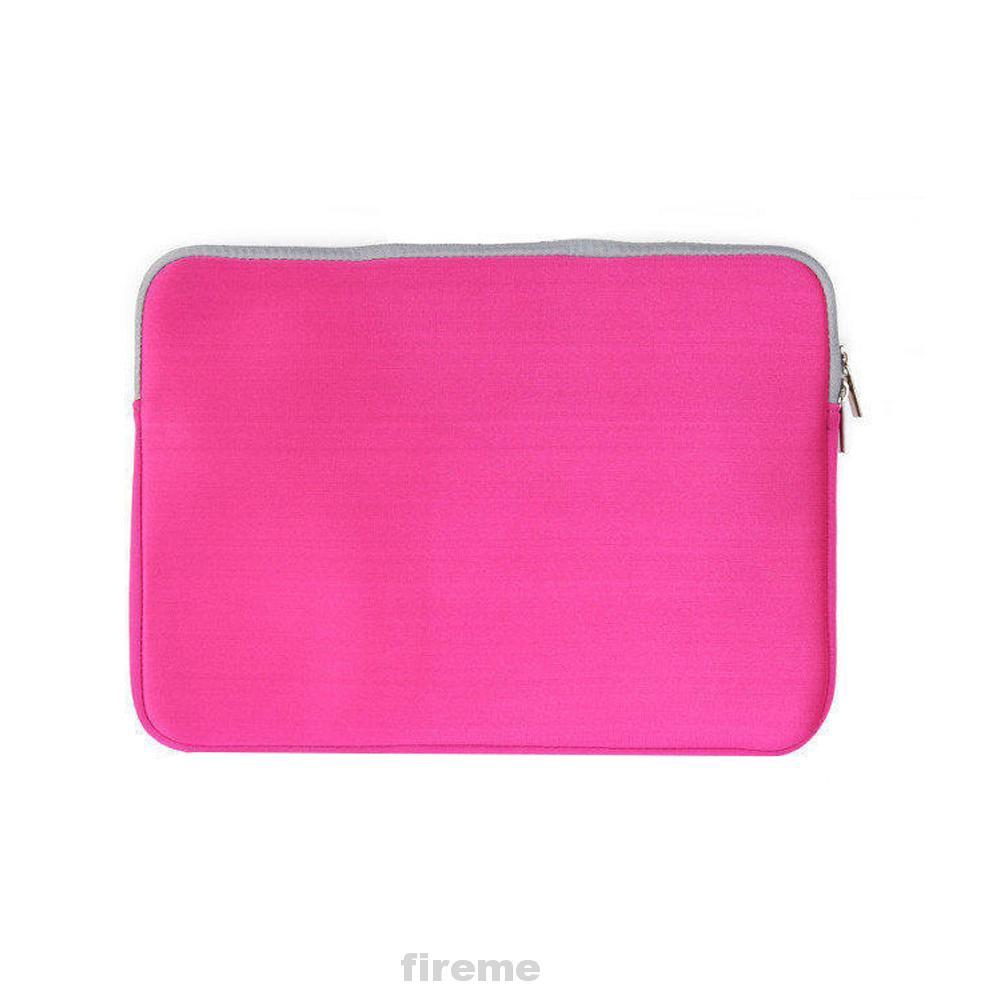 Laptop Bag Zipper Closure Handbag Portable Practical Shockproof Sleeve Case Storage Wear Resistant Durable