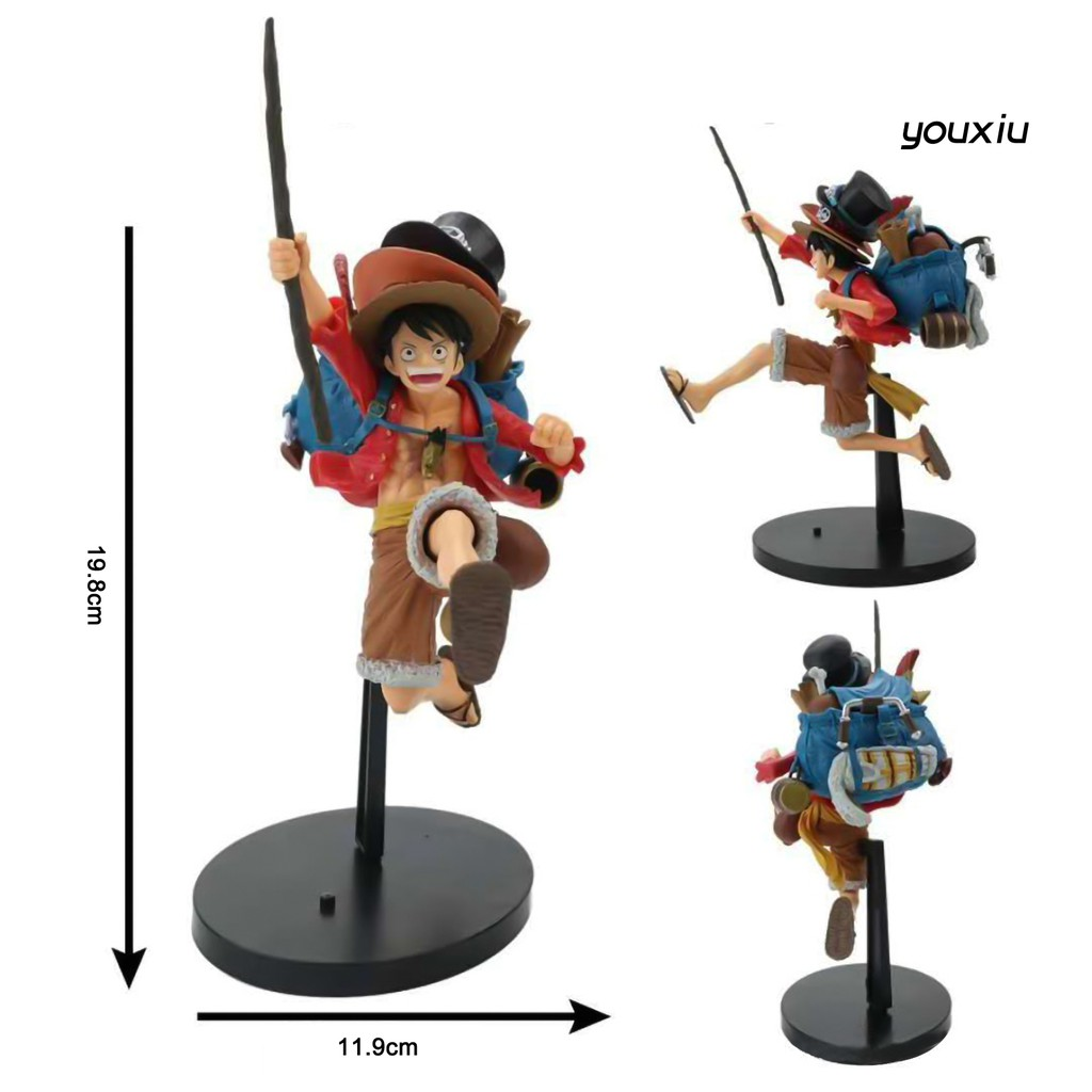 YOU-d Doll Model Anime Character Style Decorative Miniature Toy Collection Mold for Indoor