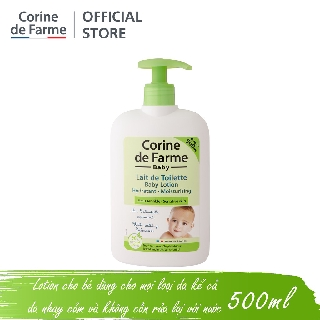 Lotion cho bé Corine de Farme Baby Lotion 250ml 500ml thumbnail