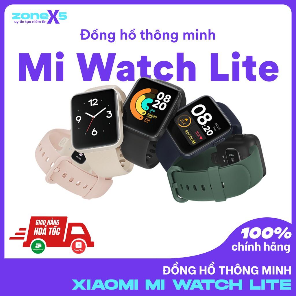 Đồng hồ thông minh Xiaomi Mi Watch Lite - GPS/Bluetooth 5.1/5 ATM