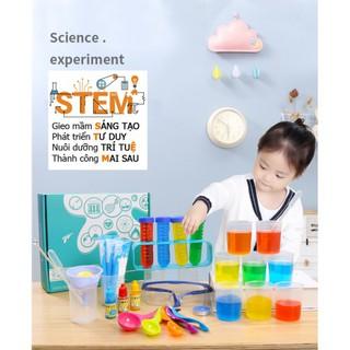 Bộ đồ dùng 92 thí nghiệm dành cho bé