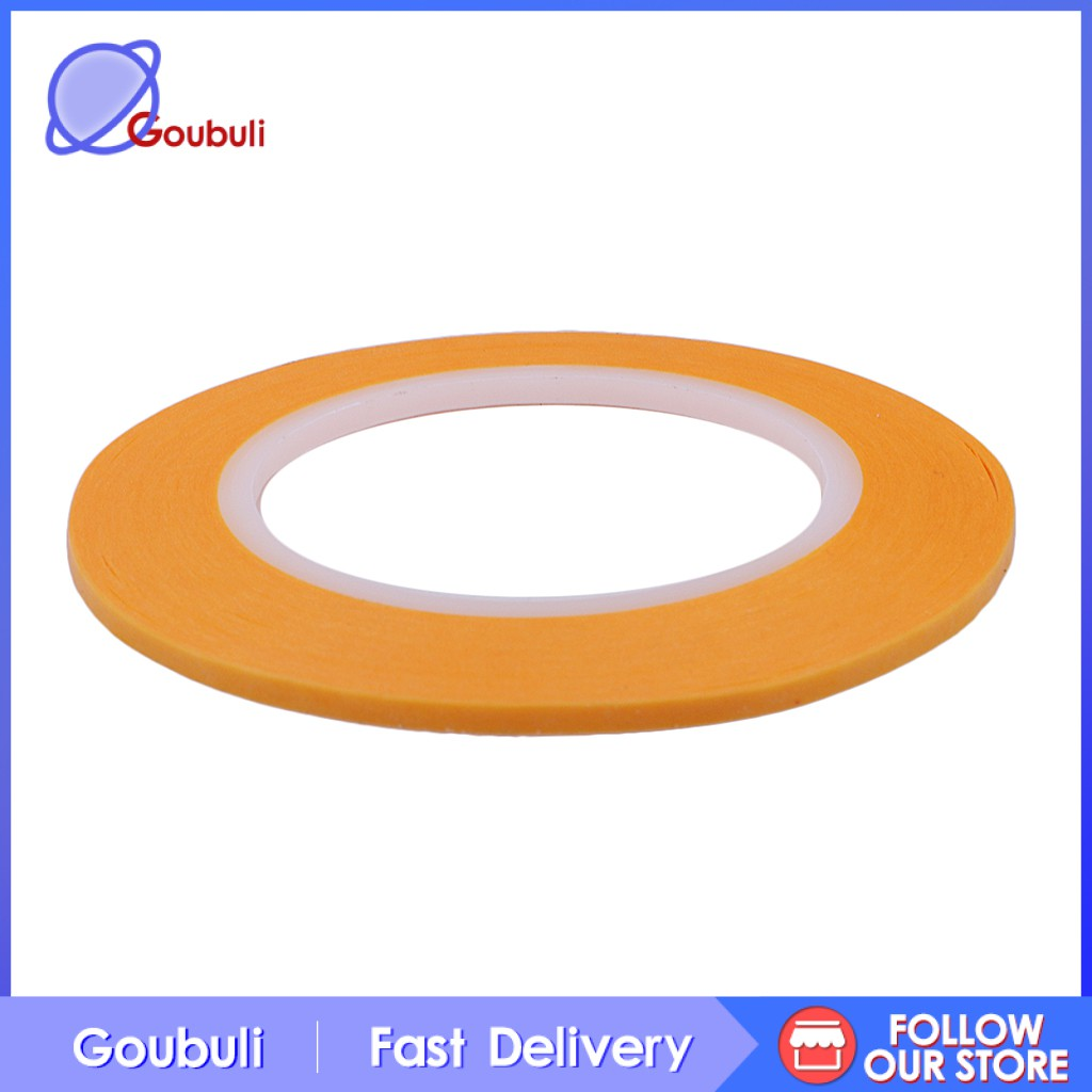 [Goubuli] 1 Roll Model Craft Precision Painting Mask Tape Water Solvent Resistant 2mm