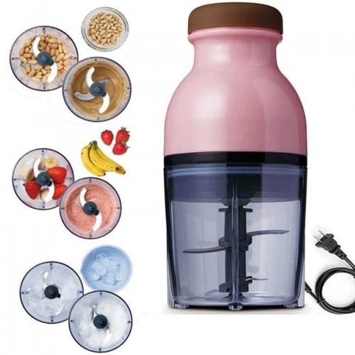 Máy xay sinh tố, hoa quả, thịt, xay đá 2 lưỡi đa năng