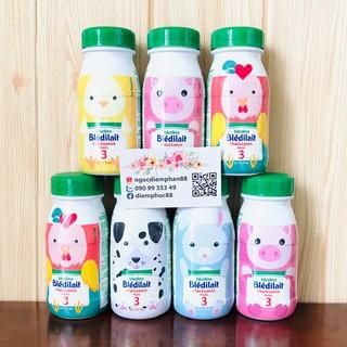 Sữa Nước Bledina Chai Nhựa 250ml cho bé 12-36m