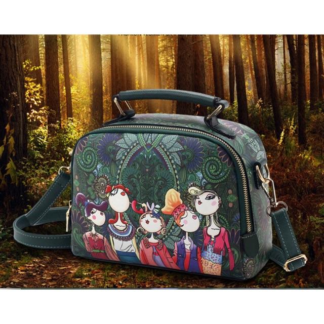 Túi đeo cô gái rừng xanh