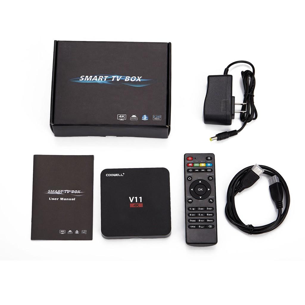 Coowell V11 RK3229 2GB RAM 8GB ROM TV box - 2678245 , 323431087 , 322_323431087 , 729000 , Coowell-V11-RK3229-2GB-RAM-8GB-ROM-TV-box-322_323431087 , shopee.vn , Coowell V11 RK3229 2GB RAM 8GB ROM TV box