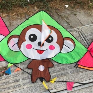 Diều con khỉ dễ thương đáng yêu (BÁN DIỀU TẶNG DÂY)