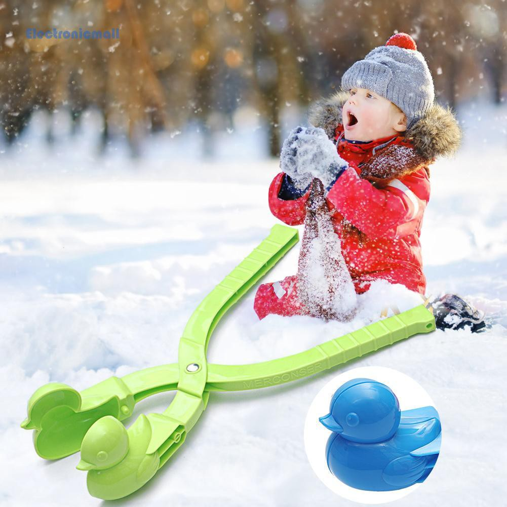 BelCartoon Duck Snowball Maker Clip Kids Winter Outdoor Sports Snow Sand Mold