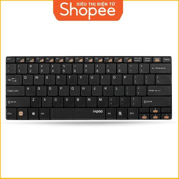 [Siêu Khuyến Mãi] Bàn phím máy tính Wireless Rapoo model E6300 Giá chỉ 549.000₫