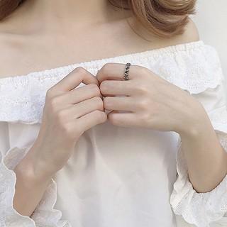 Hình ảnh Nhẫn Bạc Nữ S925 Thiết Kế Hình Đầu Lâu Độc Đáo Cá Tính N-1712 Bảo Ngọc Jewelry-6