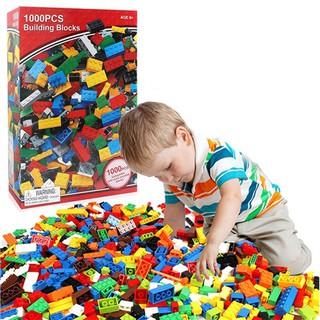 Bộ xếp hình lego 1000 chi tiết bé thỏa sức vui chơi