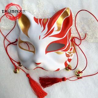 Mặt nạ mèo vẽ_01(Mask fox_cosplay)