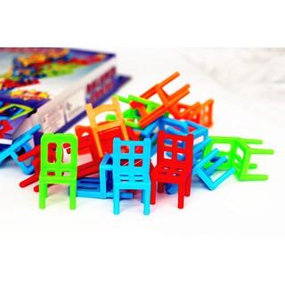 Đồ chơi giáo cụ Montessori – xếp ghế cân bằng