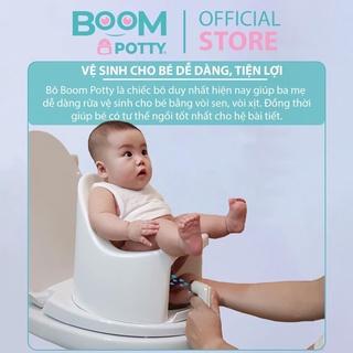 [Mã 77FMCGSALE giảm 8% đơn 500K] Bô rửa vệ sinh đa năng cho bé Boom Potty,bô vệ sinh cho bé, bô cho bé thumbnail