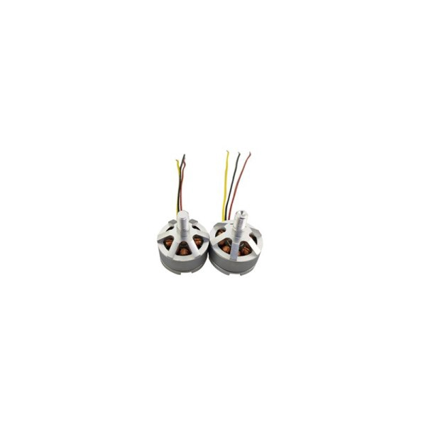 2Pcs Brushless Forward Reverse Motor for UDIRC U37 D60 Aerial Brushless Four-axis Aircraft Spare