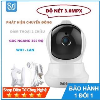 Camera IP wifi SriHome 3.0 SH020-CHÍNH HÃNG thumbnail