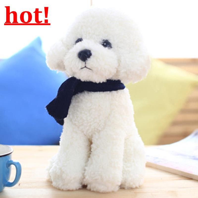 Simulation Teddy Dog Plush Toy Dog Doll Sleeping Puppet Dog Doll Doll Birthday G
