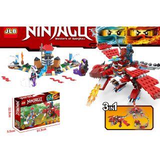 Lego ninjago 3 trong 1 JLB 3D29