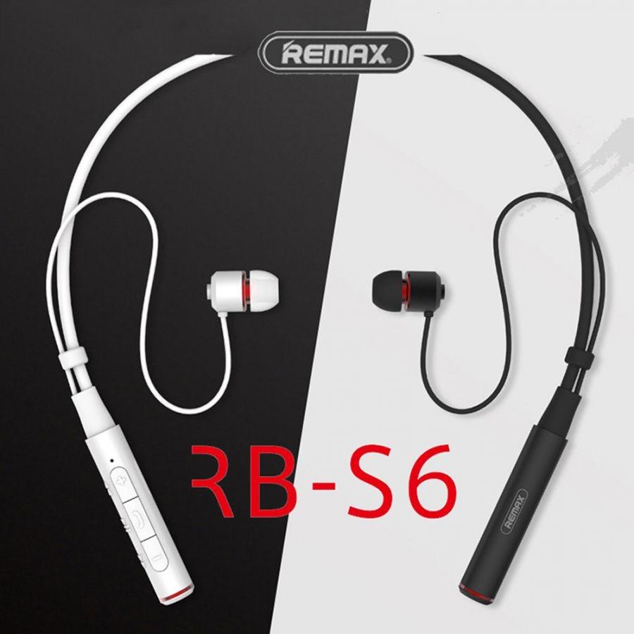 [Mã 267ELSALE hoàn 7% đơn 300K] Tai nghe bluetooth cao cấp Remax RB-S6 V4.1