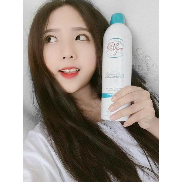 Xịt khoáng Perlyne Natural Mineral Water Spray 400ml