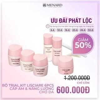 Bộ Kit 6 sản phẩm dưỡng da Menard Lisciare Cấp ẩm sâu & Làm sáng da (80gr) thumbnail