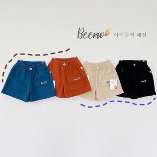Quần cho bé trai Beemo – Chất liệu kaki mềm mại, 4 màu xinh xắn, hàng xuất Âu Mỹ chuẩn chất lượng B045