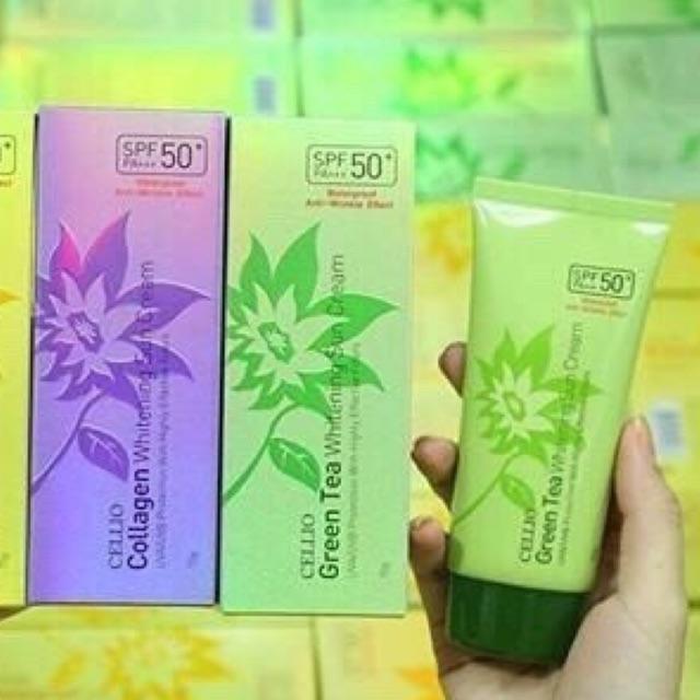 Follow Shop 02/04 Kem chống nắng Cellio Whitening Sun Cream SPF50 PA+++ Dung tích: 70g - 9994764 , 1023903414 , 322_1023903414 , 110000 , Follow-Shop-02-04-Kem-chong-nang-Cellio-Whitening-Sun-Cream-SPF50-PA-Dung-tich-70g-322_1023903414 , shopee.vn , Follow Shop 02/04 Kem chống nắng Cellio Whitening Sun Cream SPF50 PA+++ Dung tích: 70g