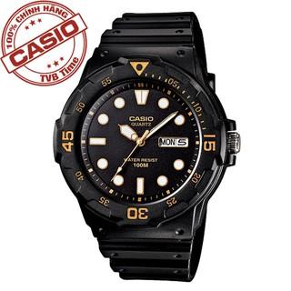 Đồng hồ nam dây nhựa Casio Standard chính hãng Anh Khuê MRW-200H-1EVDF