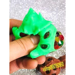 đồ chơi đồ chơi gudetama bóp trút giận khủng long có hạt nở mã YHL61 Ichac cực chất