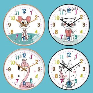 Đồng hồ treo tường kim trôi cao cấp AOBA-MK186-190