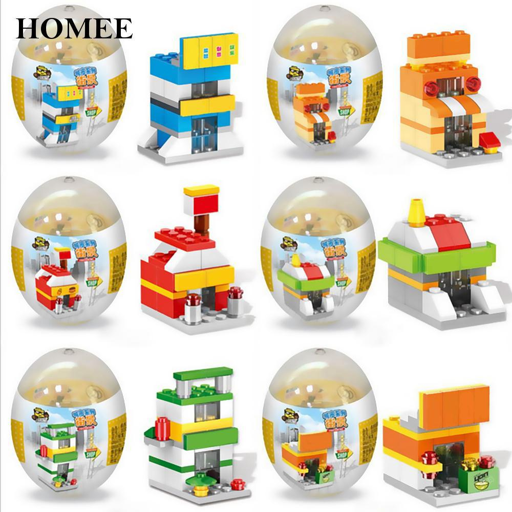 Self-Locking Street View Series/Fire Rescue Team Building Blocks Practical