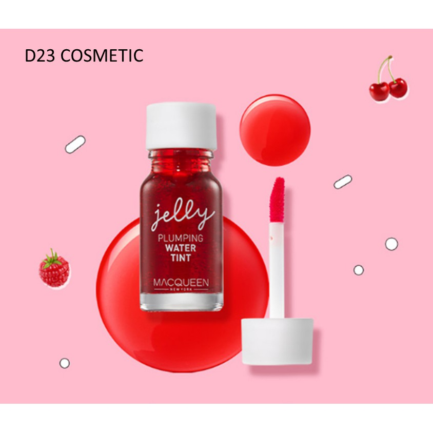 MACQUEEN NEWYORK jelly PLUMPING WATER TINT - Son tint