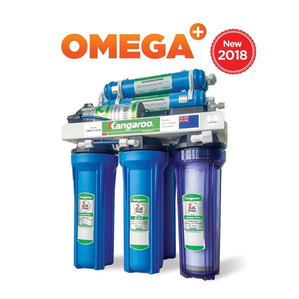 Máy lọc nước Kangaroo OMEGA+ KG02G4 (Vỏ hoa Hàn Quốc)