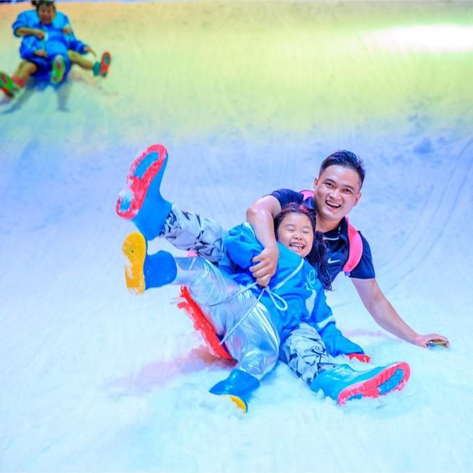 HCM [Voucher] 01 Vé giấy vào Snow Town khu vui chơi thành phố tuyết lớn nhất Sài Gòn