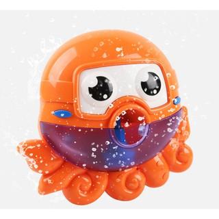 Cute Baby Bath Bubble Maker Kids Pool Swimming Bathtub Soap Machine Toys