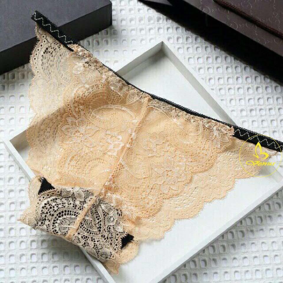 Quần Lót Lọt Khe Ren Hông Sexy- combo 3 quần trộn màu