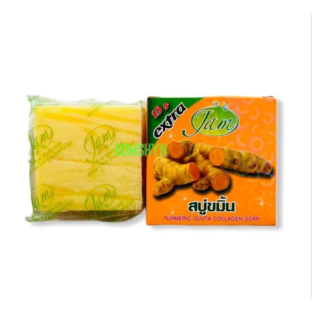 01 bánh xà phòng đa năng Nghệ Thái lan