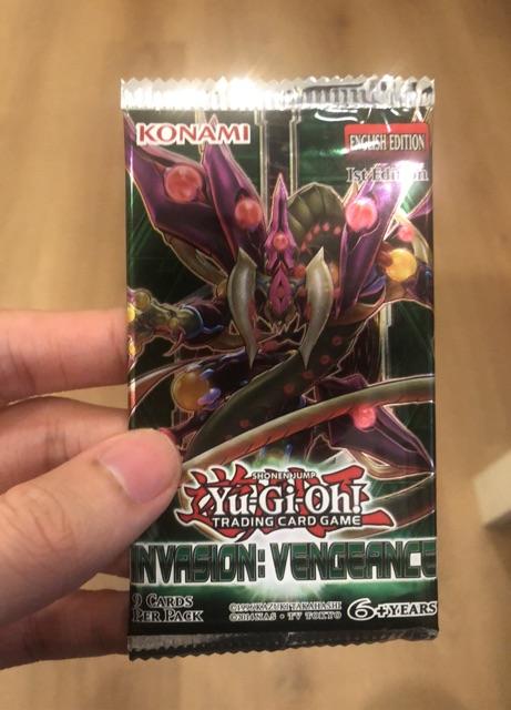 1 pack bài Yugioh Invasions Vengeance chính hãng