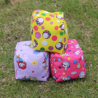 Cotton cloth stuffed plush cartoon hand ball sandbag doll educational toys