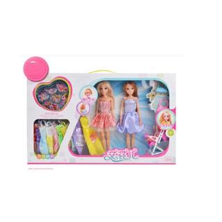 Bộ đồ chơi búp bê barbie và đồ dùng quần áo, phụ kiện