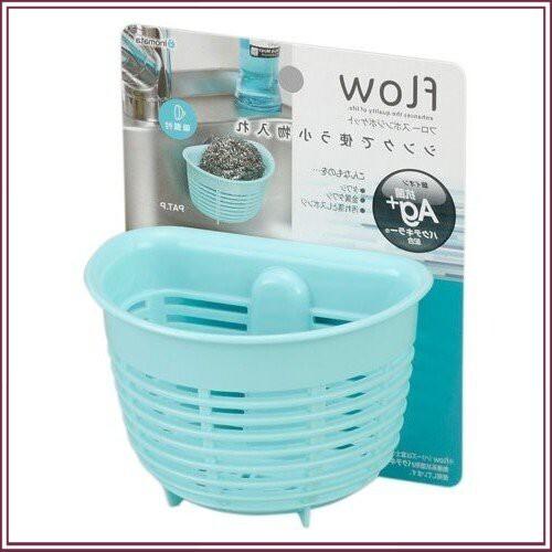 ( Siêu Khuyến Mãi )Sản phẩm giá để giẻ rửa bát hình rổ màu xanh