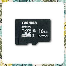 [Big_Sale]Thẻ nhớ Toshiba Micro SDHC Class 10 với dung lượng 16GB (Đen)